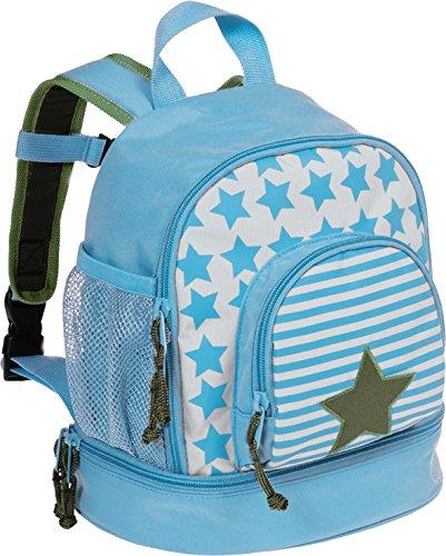 LÄSSIG Kinderrucksack Junge mit Brustgurt Kindergartentasche Kindergartenrucksack / Mini Backpack, Starlight