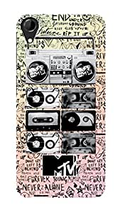 MTV Gone Case Mobile Cover for HTC Desire 728