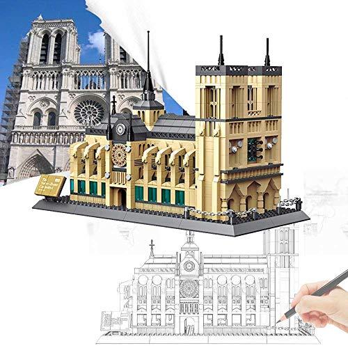 Notre Dame Cathedral World Famous Landmark 1380Pcs Blocs de...