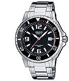 Casio Herren Analog Quarz mit Edelstahl Armbanduhr MTD1053D1AVES