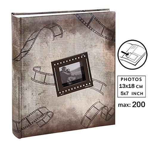 Pictures II Fotoalbum für 200 Fotos in 13x18 cm Einsteck Foto Album: Farbe: Braun