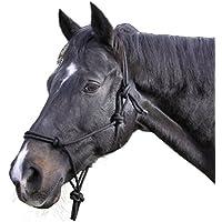 Kerbl 321155/1 - Cabezada de nudos, color negro