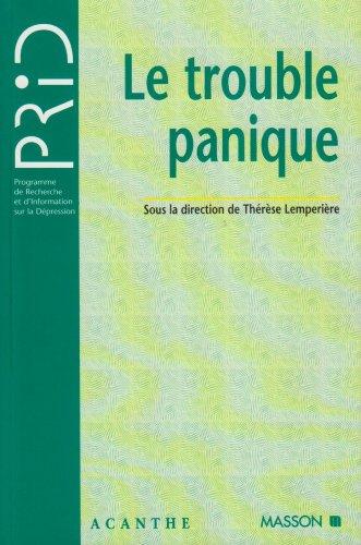 Le trouble panique par Thérèse Lempérière