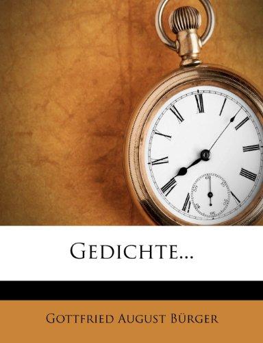 Gedichte von Gottfried August Bürger