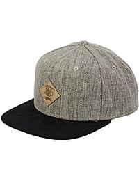 DJINNS SNAPBACK CAP - RHOMB - BLACK / SAND