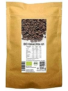 BIO Kakao Nibs roh 200 g