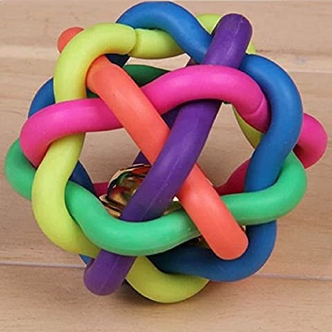 Transer® Toys for Baby Puppy - 1PC Colorful Soft Bell