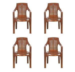 ... Nilkamal Set Of 4 Chairs (Mango Wood)