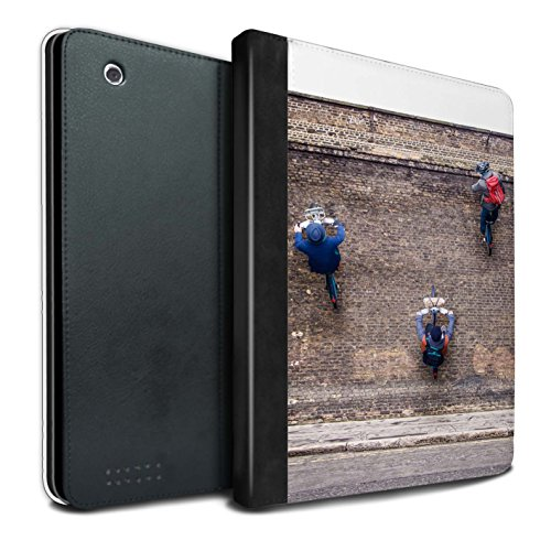 STUFF4 PU-Leder Hülle/Case/Brieftasche für Apple iPad 2/3/4 tablet / Ersten Gang Muster / Vorstellen Kollektion (Leder Firstgear)
