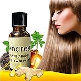 Líquido esencial de crecimiento rápido de cabello, Andrea 20 ml de tratamiento de suero para pérdida de cabello para hombres y mujeres