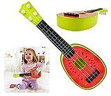 Iso Trade Kinder Gitarre Wassermelone Ukulele Spielzeug Obst Design Ab 3 Jahren Musikalisch