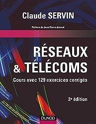 Réseaux & télécoms - 2e éd. : Cours avec 129 exercices corrigés (Informatique)