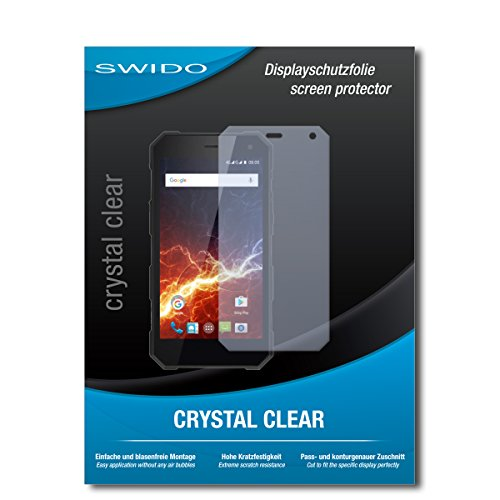 3 x SWIDO® Protector pantalla myPhone Hammer Energy