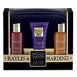 Baylis & Harding Limited Edition Black Assorted Lux Bag Set