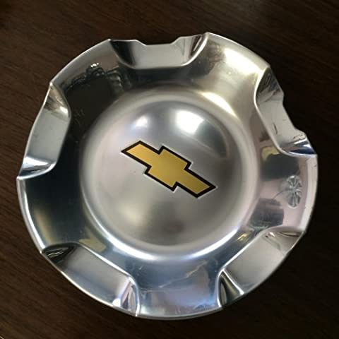 20 Inch OEM Chevy 6 Lug Polished aluminum Center Cap Hubcap Wheel Cover 2007-2014 # 9595152 or 9596007 5308 Silverado Suburban Tahoe Avalanche 1500 Pickup Truck Suv by Chevrolet