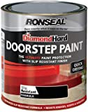 Ronseal DHDSPB750 750ml Diamond Hard Doorstep Paint - Black
