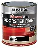 Ronseal DHDSPB750 Diamond Hard Farbe für Stufen und Treppen Schwarz