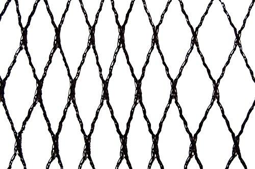 Filet anti-oiseaux - Maille de 15mm Noir 10m x 20m