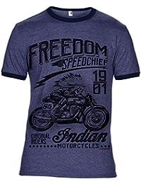 Biker Motorcycle cafe racer hoodie death rider live fast vintage /& classic bike