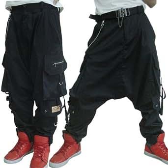 B023 Baggy Pantalon Sarouel Homme Créateur 34/36/38/40/42/44/46/48/50/52/54/56/58