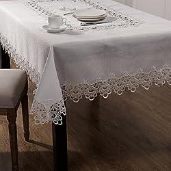 manteles bordados clásico mantel 150 * 220cm