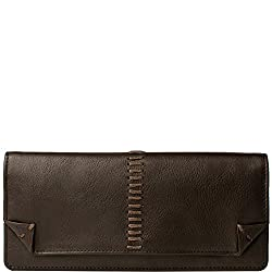 Hidesign Stitch Deluxe Womens Leather Wallet, Brown