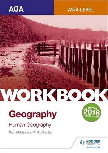 AQA AS/A-Level Geography Workbook 2: Human Geography for sale  Delivered anywhere in UK