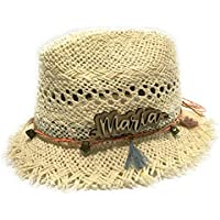 Sombrero de niña personalizado.