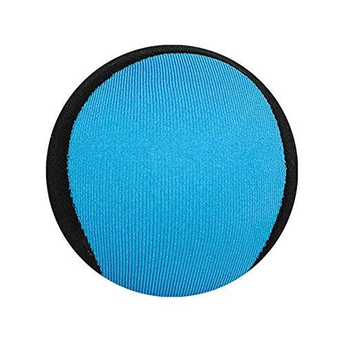 Firlar Beach Ball, Skim Wasser Ball weich und stark Bounce, Bounce Spielzeug, Wasser Bouncing Ball für Pool & Meer Wasser Sport Spiel–5,5cm, blau
