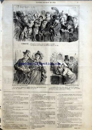 CHARIVARI (LE) du 06/06/1864 - AU SALON ...