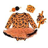 Sronjn mio primo Halloween costume della del partito del vestito 4PCS Stile 5