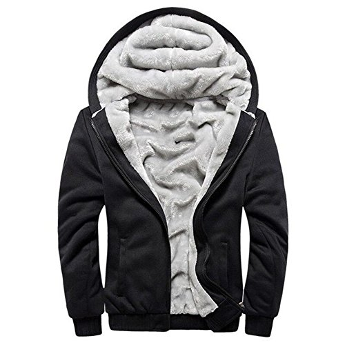 Manluodanni Homme Hiver Chaud Sweats...