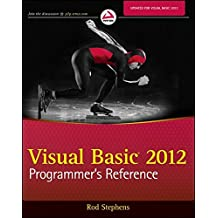 Visual Basic 2012 Programmer′s Reference