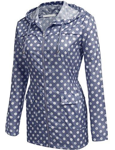 cooshional Regenjacken Test Damen Regenbekleidung Regenparka Wasserdicht Atmungsaktiv PVC