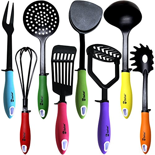 kitchen-utensils-cooking-set-by-chefcootm-includes-8-pieces-non-stick-cookware-gadgets-masher-spaghe