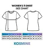 Prezzo Gender Does Not Equal Genitals_b Tshirt Shirt T-Shirt for Women Ladies Black Cotton Gift Idea LG Women Black Shirt