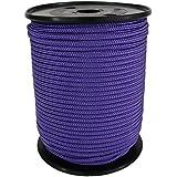 PP Seil Polypropylenseil SH 4mm 100m Farbe Violett (4327) Geflochten