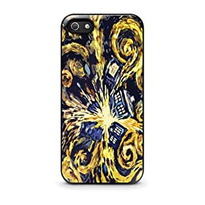 Coque iPhone 4/4S Doctor Who Van Gogh's Exploding Tardis - iPhone 4/4s Case