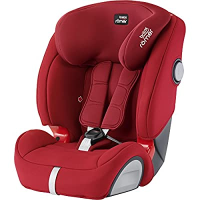 Britax Römer EVOLVA 1-2-3 SL SICT Group 1-2-3 (9-36kg) Car Seat - Flame Red