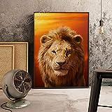 XWArtpic Amerikanischen 3D Cartoon Film Der König der Löwen Simba plakatdruck kinderzimmer Wohnzimmer Dekoration Bild leinwand malerei 30 * 40 cm
