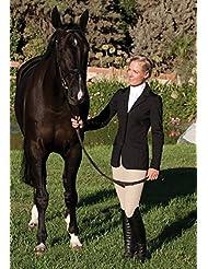 Caza - damas abrigo Romfh, mujer, color Negro - negro, tamaño 06