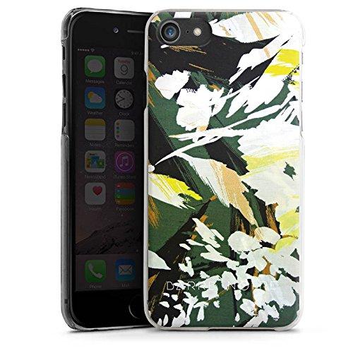 Apple iPhone X Silikon Hülle Case Schutzhülle Blumenmuster Blume Muster Hard Case transparent