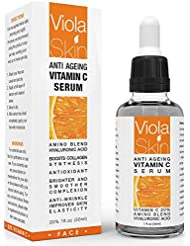 PREMIUM Vitamin C Serum For Face with Hyaluronic Acid Serum - Anti Ageing & Anti Wrinkle Serum - Customers Call It A Face Lift without the needles! This Vitamin C Serum Will Plump, Hydrate & Brighten. Over 500,000+ Happy Customers Worldwide.