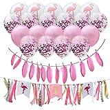 Geburtstag Hochzeit Banner Party Luftballons Deko, Banner Ribbon Luftballons Für Jungen Und Mädchen Alters Geburtstag von Fancylande