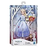Disney La Reine Des Neiges 2 - Poupee Princesse Disney Elsa Chantante - 27 cm - Chante en Français