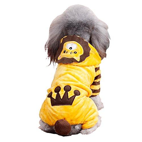 al Look Halloween Onesie Costume Pet Hoodie (Cute Halloween Animal Costumes)