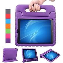 NEWSTYLE Apple iPad Air 2 / iPad 6 Funda para niños EVA antichoque ligera destinado a prueba de golpes Protección Funda Tapa - Violeta