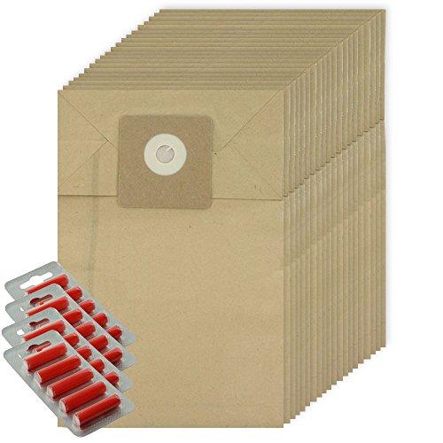 Kompakt-staubsauger Ersatz Tasche (spares2go stark Staub Staubbeutel für Cleanfix S10S12Staubsauger (20Stück + 20Lufterfrischer))