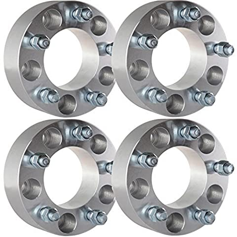 ECCPP (4) 2 5x5 Wheel Spacers Adapters Fits Jeep Wrangler Grand Cherokee JK Offroad by ECCPP