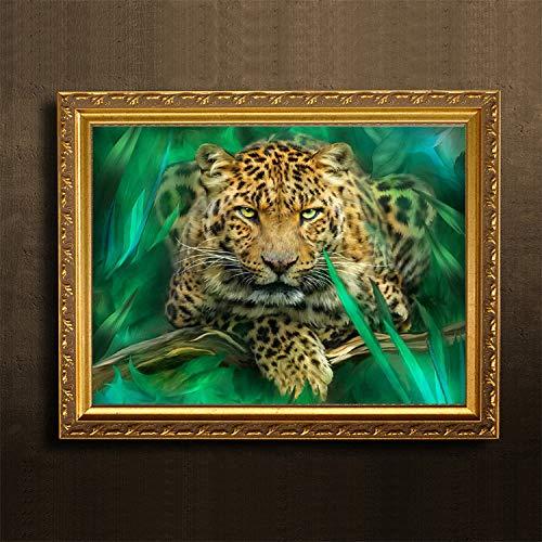 Kits de Pintura Diamante 5D Nube Leopardo